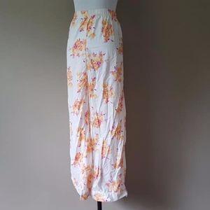 Sleep Pants XXL Floral Print Plus Size 2XL Resting
